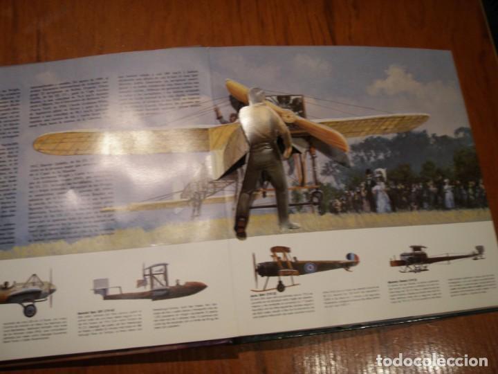 Libros de segunda mano: LIBRO LOS GRANDES AVIONES DEL SIGLO EN 3D MONTENA - Foto 4 - 151531622