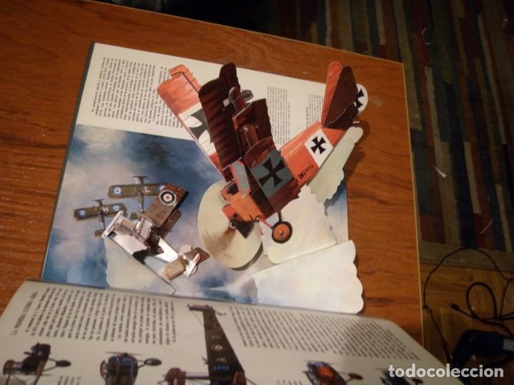 Libros de segunda mano: LIBRO LOS GRANDES AVIONES DEL SIGLO EN 3D MONTENA - Foto 5 - 151531622