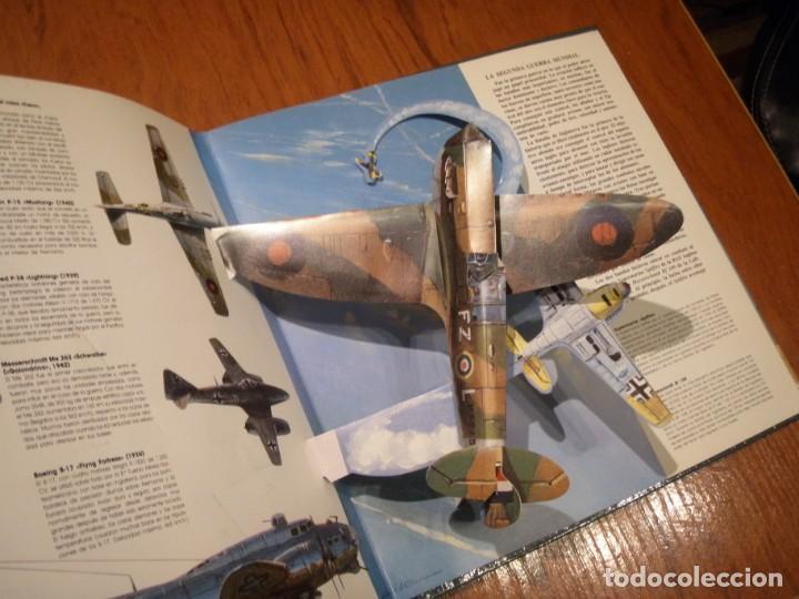 Libros de segunda mano: LIBRO LOS GRANDES AVIONES DEL SIGLO EN 3D MONTENA - Foto 8 - 151531622