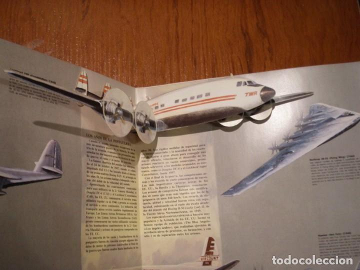 Libros de segunda mano: LIBRO LOS GRANDES AVIONES DEL SIGLO EN 3D MONTENA - Foto 9 - 151531622