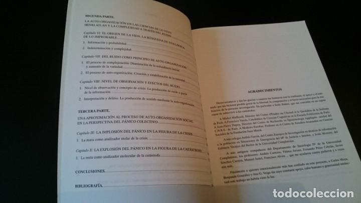 Libros de segunda mano: AUTO ORGANIZACIÓN ENTRE EL ORDEN Y EL CAOS - RUANO GÓMEZ - UNIVERSIDADE DA CORUÑA 1996 - Foto 4 - 151535430
