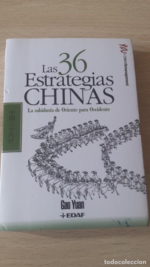 LAS 36 ESTRATEGIAS CHINAS (Libros de Segunda Mano - Pensamiento - Otros)