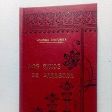 Libros de segunda mano: LOS SITIOS DE ZARAGOZA - JOSÉ OSÉS LARUMBE GALERÍA HISTÓRICA ILUSTRACIONES LLOBET (REEDICIÓN). Lote 151555542