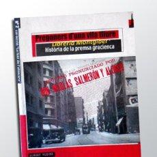 Libros de segunda mano: PREGONERS D'UNA VILA LLIURE - ALBERT MUSONS. Lote 151555946