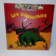 Libros de segunda mano: LIBRO DIDÁCTICO; MI MUNDO - LOS DINOSAURIOS (EDITORIAL SM) FANTÁSTICA EDICIÓN (VER FOTOS) . Lote 151557050