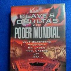 Libros de segunda mano: CLAVES OCULTAS DEL PODER MUNDIAL. JOSE LESTA Y MIGUEL PEDRERO.. Lote 151561646