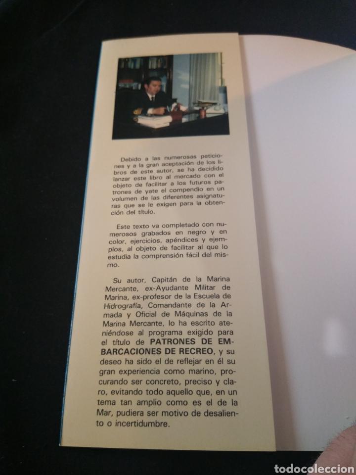 Libros de segunda mano: Patrones de embarcaciones de recreo. José de Simón Quintana - Foto 2 - 151570381