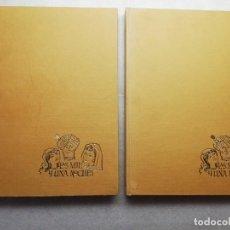 Libros de segunda mano: LAS MIL Y UNA NOCHES - CARMEN AGULLO Y FELIPE HERRANZ - TOMOS I Y II - EDAF. Lote 151668738