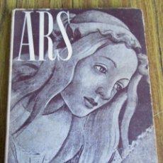 Libros de segunda mano: ARS HISTORIA DEL ARTE Y DE LA CULTURA - ENRIQUE BAGUÉ - EDITORIAL TEIDE PRIMERA EDICIÓN 1954. Lote 151670350