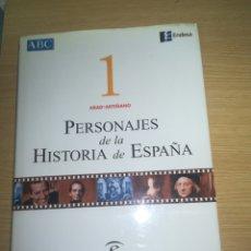 Libros de segunda mano: PERSONAJES DE LA HISTORIA DE ESPAÑA TOMO 1. Lote 151683720