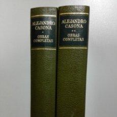 Libros de segunda mano: OBRAS COMPLETAS - CASONA, ALEJANDRO. Lote 151694160