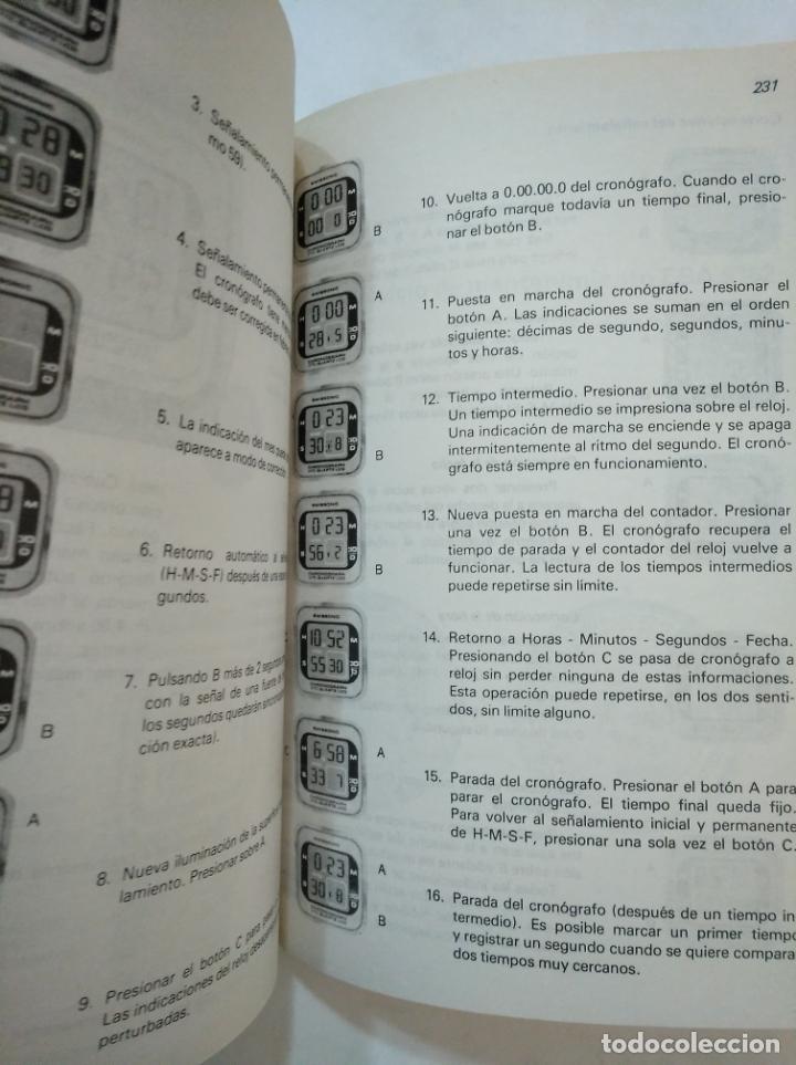 Libros de segunda mano: MANUAL DE RELOJERÍA ELECTRÓNICA Y DE CUARZO. - H. LECOULTRE Y A. JIMÉNEZ - EDICIONES CEDEL. TDK367 - Foto 2 - 151722050
