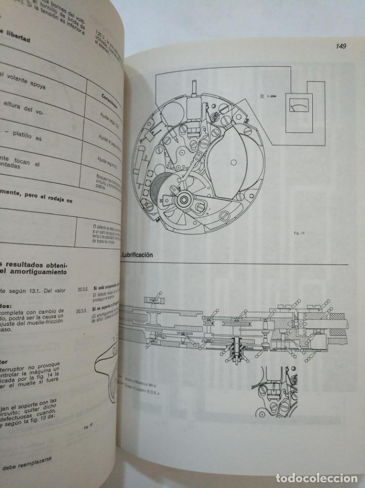 Libros de segunda mano: MANUAL DE RELOJERÍA ELECTRÓNICA Y DE CUARZO. - H. LECOULTRE Y A. JIMÉNEZ - EDICIONES CEDEL. TDK367 - Foto 3 - 151722050