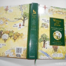 Libros de segunda mano: A.A. MILNE WINNIE THE POOH. THE COMPLETE COLLECTION OF STORIES AND POEMS Y92545. Lote 151727378