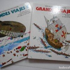 Libros de segunda mano: PIERO VENTURA & GIAN PAOLO CESERANI GRANDES VIAJES (2 TOMOS) Y92551-2. Lote 151732678