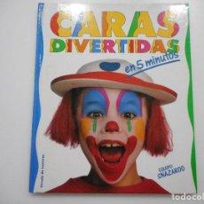 Libros de segunda mano: CARAS DIVERTIDAS EN 5 MINUTOS Y92552. Lote 151733050