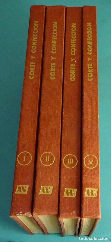 MÉTODO PRÁCTICO DE CORTE Y CONFECCIÓN. AFHA. VOLÚMENES I, II, III, V. FALTA VOLUMEN IV (Libros de Segunda Mano - Ciencias, Manuales y Oficios - Otros)