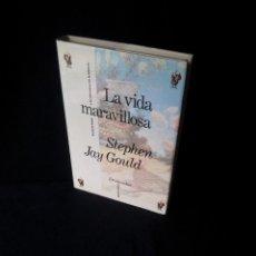 Libros de segunda mano: STEPHEN JAY GOULD - LA VIDA MARAVILLOSA - DRAKONTOS CLASICOS 1991. Lote 151897082