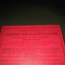 Libros de segunda mano: CUENTAS AJUSTADAS, POR CELESTINO CUESTA DE CASTRO. Lote 151904225