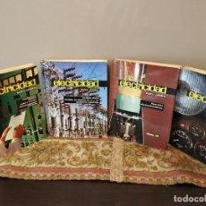 Libros de segunda mano: LOTE 4 TOMOS - ELECTRICIDAD EDICIONES AFHA. Lote 151907950