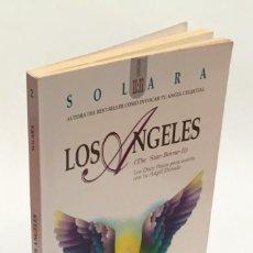 Libros de segunda mano: LOS ÁNGELES - LOS DOCE PASOS PARA UNIRTE CON TU ÁNGEL DORADO - SOLARA - OBELISCO. Lote 151911426