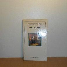 Libros de segunda mano: KNUT FALDBAKKER, LUNA DE MIEL - MUCHNIK / SIN FRONTERAS. Lote 151923402