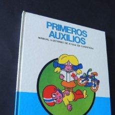 Libros de segunda mano: MANUAL DE PRIMEROS AUXILIOS / ILUSTRADO - AL. PACINI / ED. EUROPA AÑO 1987 / TAPA DURA / SIN USAR. Lote 152039646