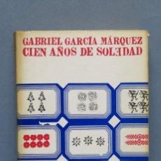 Libros de segunda mano: 1969.- CIEN AÑOS DE SOLEDAD. GABRIEL GARCIA MARQUEZ. Lote 152042038