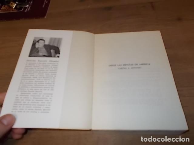 Libros de segunda mano: DESDE LAS ESPAÑAS DE AMÉRICA. CARTAS A ANTONIO. DAMIÁN BARCELÓ. PALMA DE MALLORCA. 1ª EDICIÓN 1979 - Foto 2 - 152056994