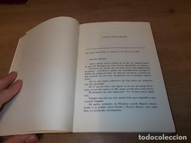 Libros de segunda mano: DESDE LAS ESPAÑAS DE AMÉRICA. CARTAS A ANTONIO. DAMIÁN BARCELÓ. PALMA DE MALLORCA. 1ª EDICIÓN 1979 - Foto 5 - 152056994