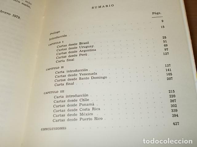 Libros de segunda mano: DESDE LAS ESPAÑAS DE AMÉRICA. CARTAS A ANTONIO. DAMIÁN BARCELÓ. PALMA DE MALLORCA. 1ª EDICIÓN 1979 - Foto 15 - 152056994