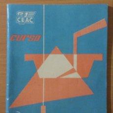 Libros de segunda mano: LIBRO - CURSO CEAC - MAESTRO ALBAÑIL ENVÍO 1 - 1965. Lote 152132266