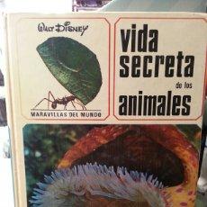 Libros de segunda mano: VIDA SECRETA DE LOS ANIMALES. ( MARAVILLAS DEL MUNDO).. Lote 152153144