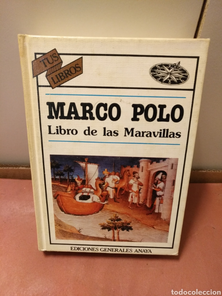 ANAYA TUS LIBROS 27,MARCO POLO,1°EDICION (Libros de Segunda Mano - Literatura Infantil y Juvenil - Otros)