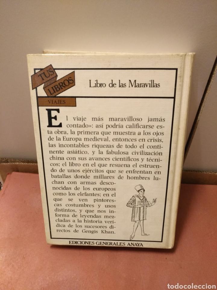 Libros de segunda mano: ANAYA TUS LIBROS 27,MARCO POLO,1°edicion - Foto 3 - 152159497