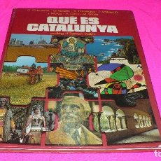 Libros de segunda mano: QUÉ ÉS CATALUNYA, EDICIONS 62 DEL 1980, . Lote 152162414