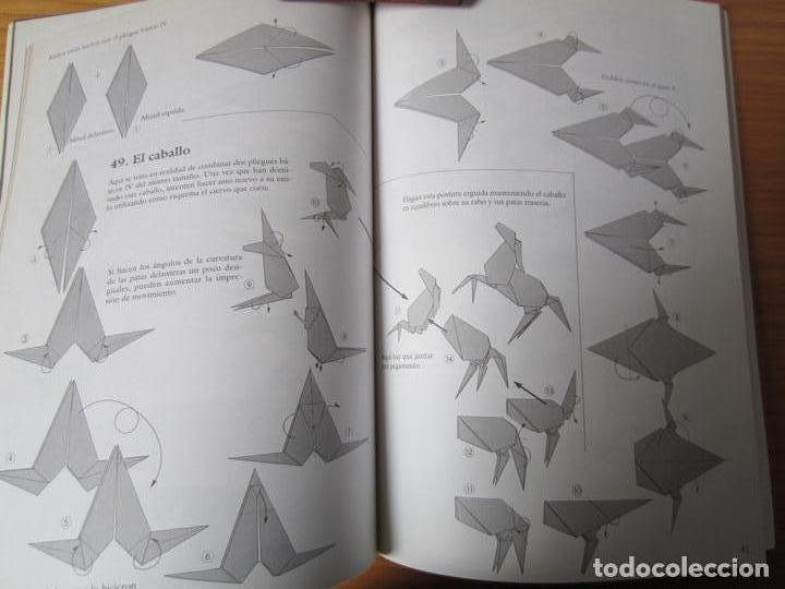 Libros de segunda mano: Papiroflexia creativa / por Kunihiko Kasahara - Foto 2 - 152177138