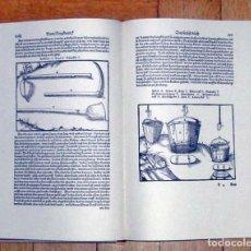 Libros de segunda mano: DE RE METALICA, DE GEORGIUS AGRICOLA (S. XVI), FACSÍMIL ÍNTEGRO. Lote 152138778