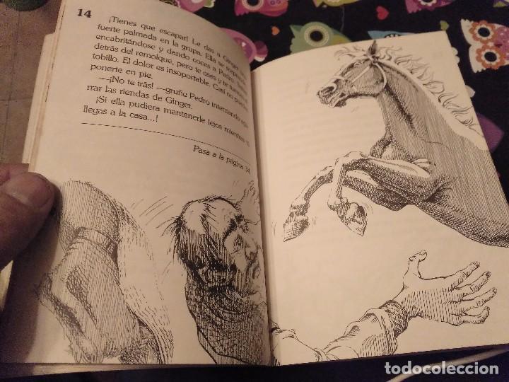 Libros de segunda mano: DIFICIL LIBRO ELIGE TU PROPIA AVENTURA TIMUN MAS Nº 14 PAIS DE CABALLOS SALVAJES LYNN SONBERG 1986 - Foto 5 - 152213510
