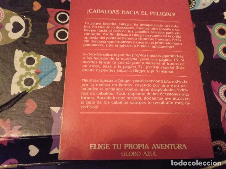 Libros de segunda mano: DIFICIL LIBRO ELIGE TU PROPIA AVENTURA TIMUN MAS Nº 14 PAIS DE CABALLOS SALVAJES LYNN SONBERG 1986 - Foto 7 - 152213510
