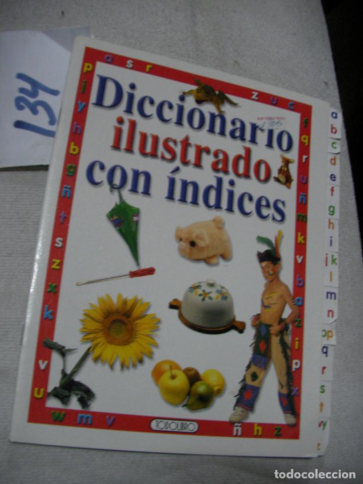 DICCIONARIO ILUSTRADO CON INDICES (Libros de Segunda Mano - Literatura Infantil y Juvenil - Otros)