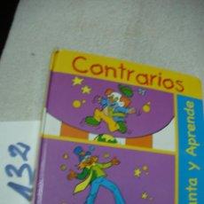 Libros de segunda mano: CONTRARIOS - ENVIO INCLUIDO A ESPAÑA. Lote 152224502