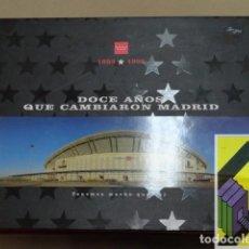 Libros de segunda mano: VARIOS AUTORES: DOCE AÑOS QUE CAMBIARON MADRID (1983-1995). Lote 152275318