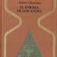 Libros de segunda mano: ROBERT CHARROUX . EL ENIGMA DE LOS ANDES (OTROS MUNDOS PLAZA, 1976) LAS PIEDRAS DE ICA. Lote 152278081