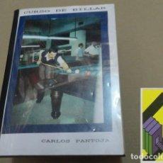 Libros de segunda mano: PANTOJA, CARLOS: CURSO DE BILLAR. Lote 152280594