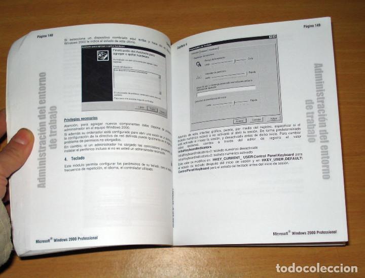 Libros de segunda mano: WINDOWS 2000 PROFESSIONAL. EXAMEN 70-210. PREPARACIÓN PARA EL EXAMEN MCSE (sin CD). ED. ENI. 2000 - Foto 3 - 152300642