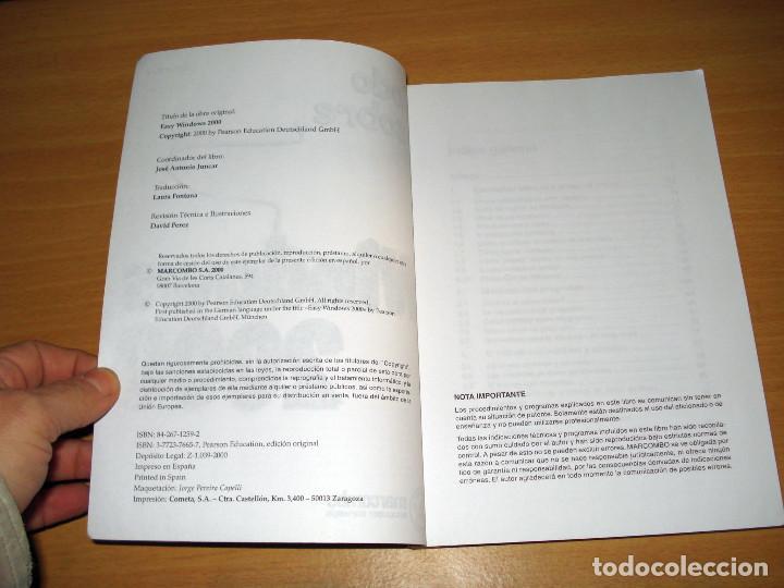 Libros de segunda mano: TODO SOBRE WINDOWS 2000 (GÜNTER BORN). MARCOMBO (2a. edición). AÑO 2000 - Foto 2 - 152302786