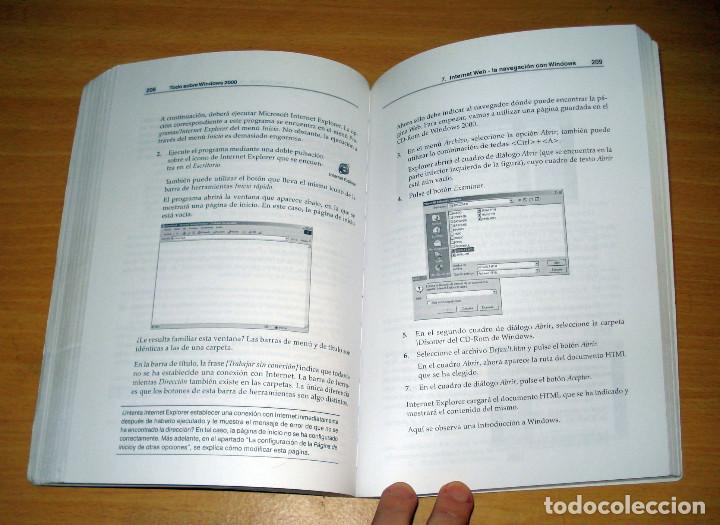 Libros de segunda mano: TODO SOBRE WINDOWS 2000 (GÜNTER BORN). MARCOMBO (2a. edición). AÑO 2000 - Foto 4 - 152302786