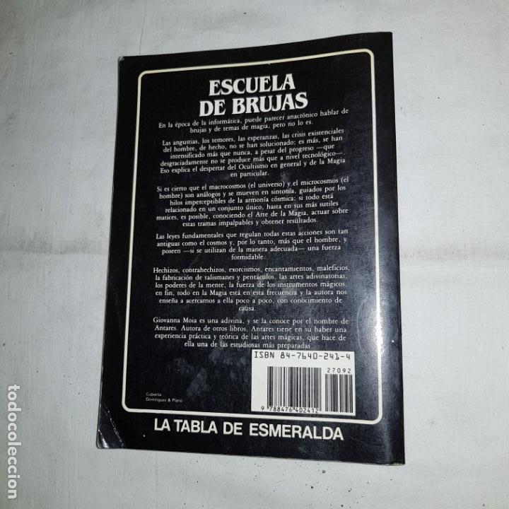 Libros de segunda mano: ESCUELA DE BRUJAS -GIOVANNA MOIA, ANTARES- - Foto 3 - 152311890