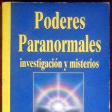 Libros de segunda mano: PODERES PARANORMALES. INVESTIGACIÓN Y MISTERIOS. BIBLIOTECA AÑO CERO.. Lote 152319266